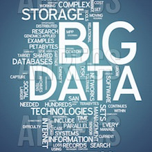 "A wordcloud around the concept of ""BIG DATA"""