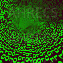 Abstract binary code tunnel and sink hole