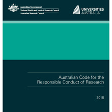 Cover of the Australian Code 2018
