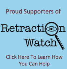 A Retraction Watch supporters graphic