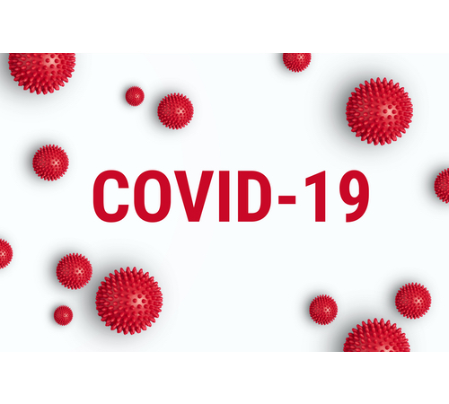 A COVID-19 graphic