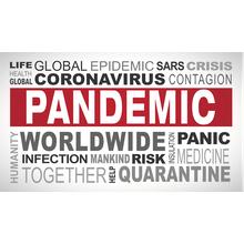 Pandemic wordcloud