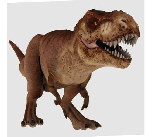 High resolution image of Tyrannosaurus-Rex