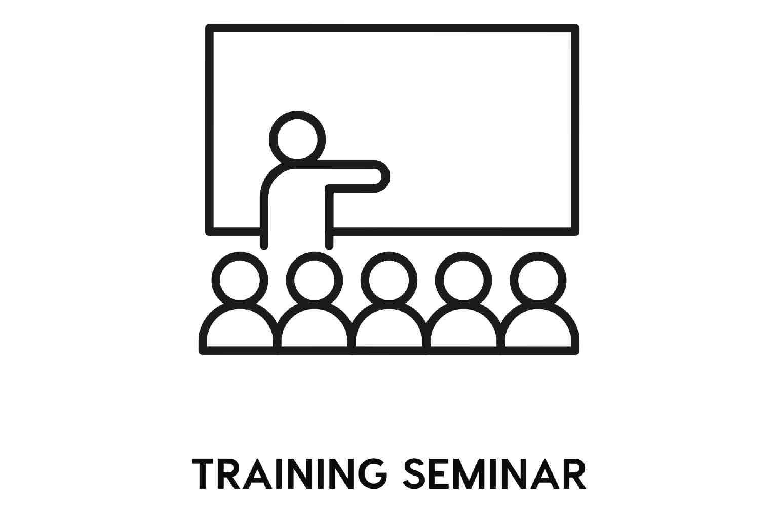 Icon for a training seminar